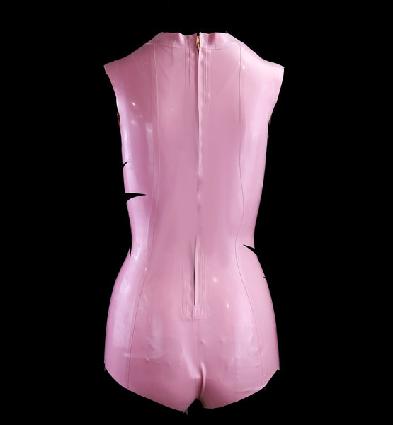 Pink Eyeball Latex Bodysuit