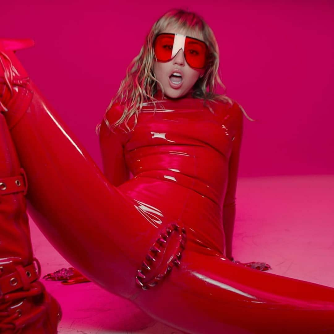 Red Classic Latex Catsuit