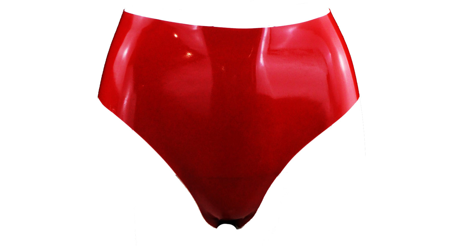 Red Latex Briefs