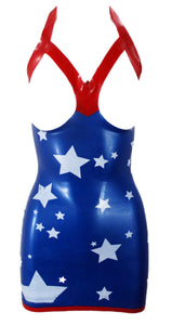 The Sexy Amerika Latex Dress