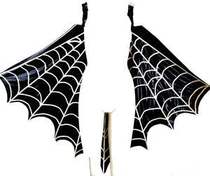 Spider Web Latex Cape