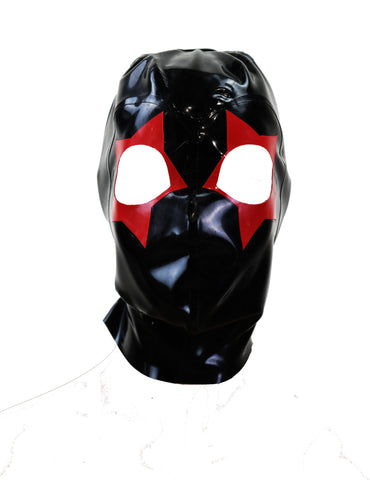 Red Star Latex Face Mask