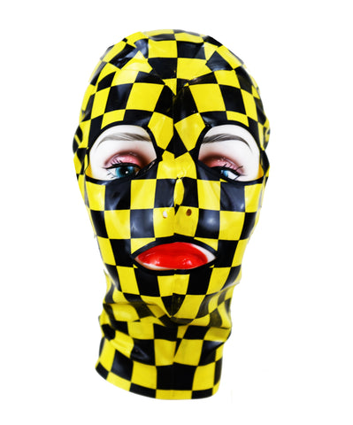 Taxi Cab Latex Face Mask