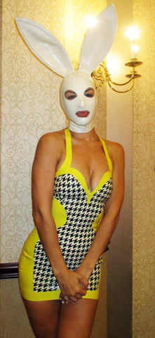 Playboy Bunny Full Face Latex Mask