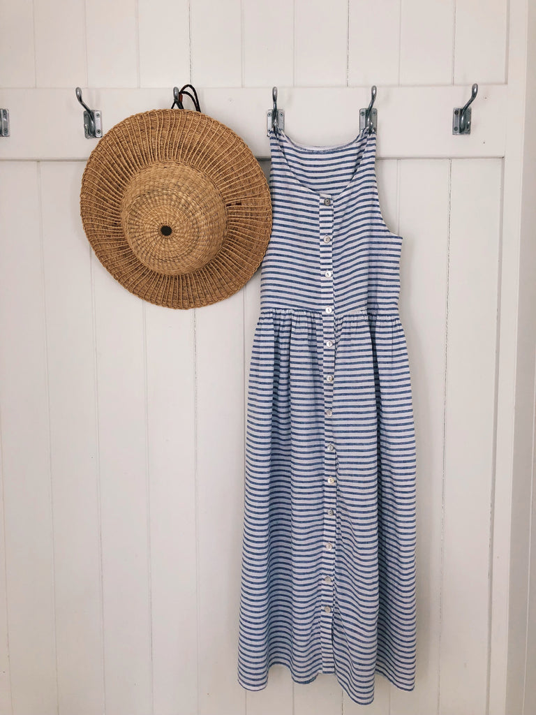 The Day Dress - French Stripe