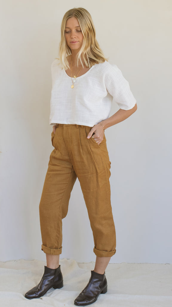 Bobbi Pants - Golden