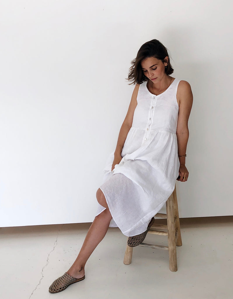 The Day Dress - White