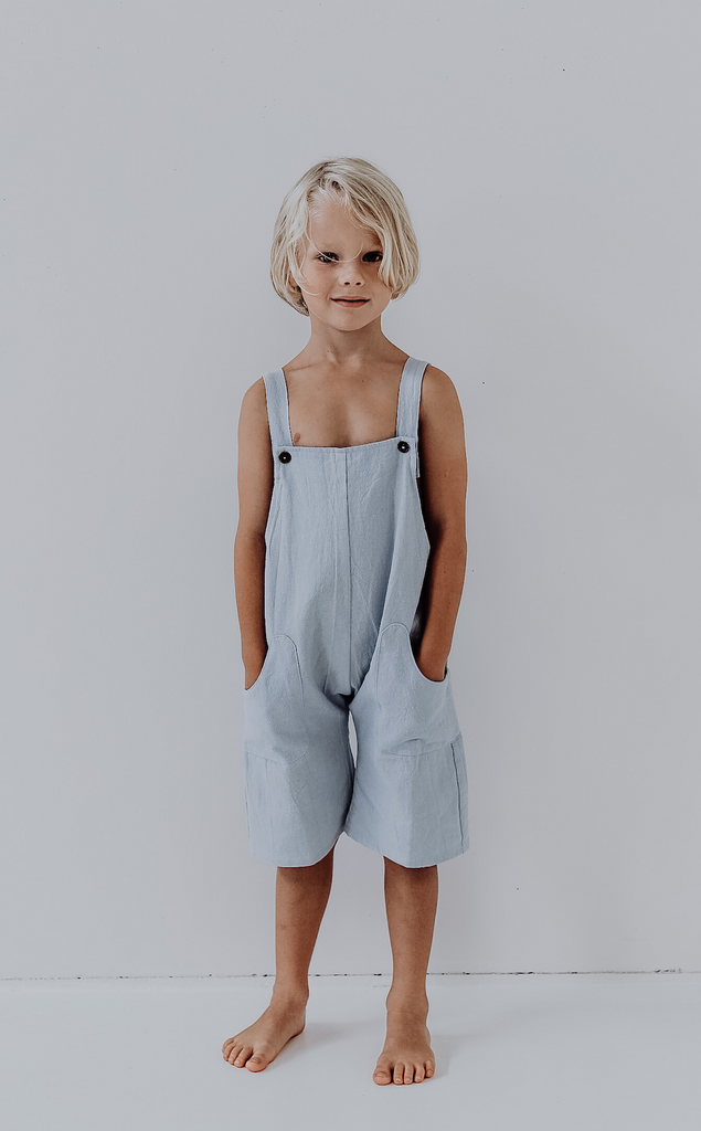 Billie Overalls | Sky blue