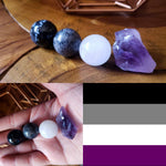 LGBT+ Crystals, Ace Flag Spheres