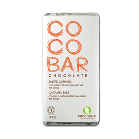 Salted Caramel Chocolate Bar - Coconama