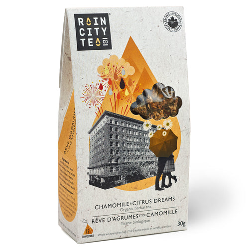 Chamomile & Citrus Dreams (15 teabags)