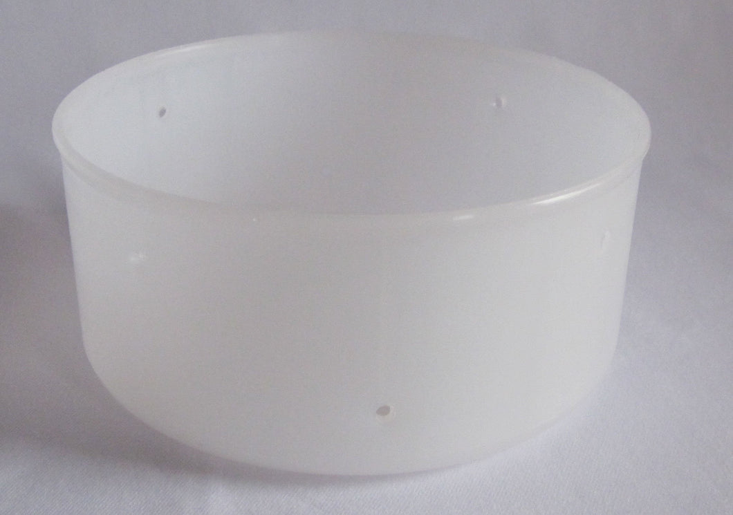 W61:PF4069 Reblochon Semi-Firm Cheese Mould - rounded bottom