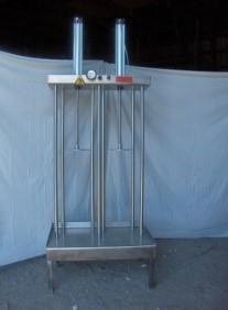Dutch Stainless Steel Cheese Press 2 pistons