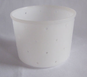 W55:PF3402 Soft Cheese Mould - rounded bottom
