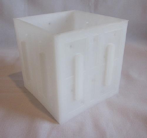 W31:PF3842 Square Soft Cheese Mould - no bottom