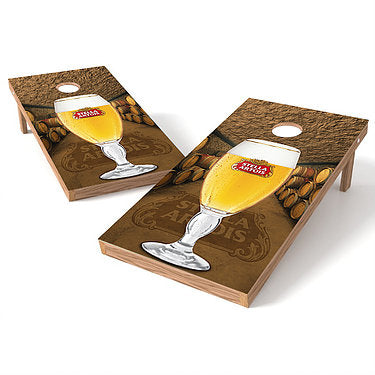 Official 2x4 Stella Artois Cornhole Game