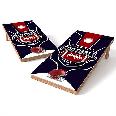 Official Size 2x4 American League Football Cornhole Game