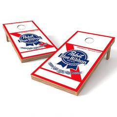 Official 2x4 Pabst Blue Ribbon Beer Cornhole Game