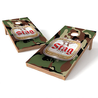 Official 2x4 Stag Beer Cornhole Game