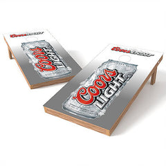 Official 2x4 Coors Light Can Cornhole Game