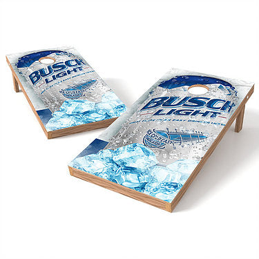 Official 2x4 Busch Light Can Cornhole Game