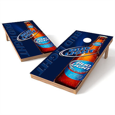 Official 2x4 Bud Light Bottle Beam Cornhole Game