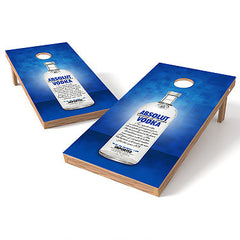 Official 2x4 Absolut Vodka Cornhole Game