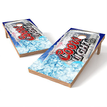 Official 2x4 Coors Light Cornhole Game