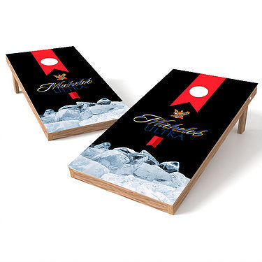 Official 2x4 Michelob Ultra on Ice Cornhole Game
