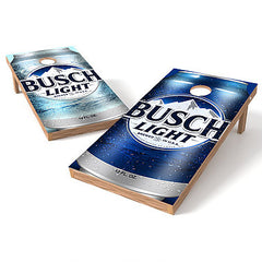 Official 2x4 Busch Light Cornhole Game