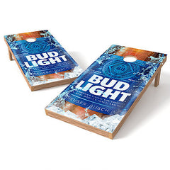 Official Size 2x4 Bud Light Bottle Cornhole Game