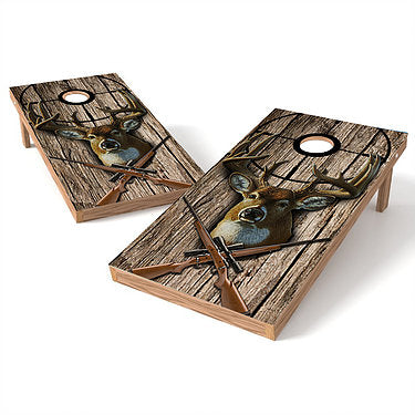 Official Size 2x4 Deer Hunter Cornhole Game