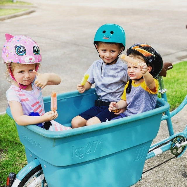 AUGUST MADSEN Contest-of-the-Month : Back-to-School Bikes!
