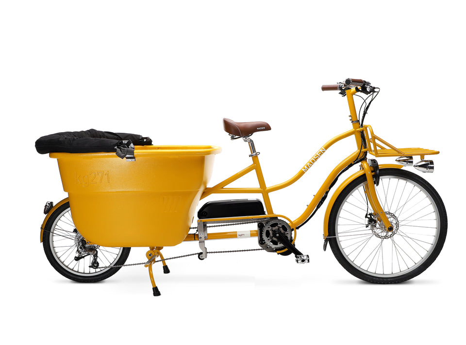 Electric MADSEN 2021 Mustard Yellow Fully Loaded - *BACKORDER