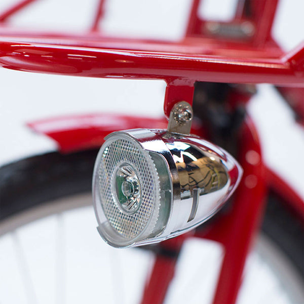 MADSEN LED Front Bike Light - STEEL