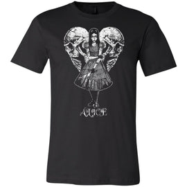 Alice T-Shirt - Goth Video Game T-Shirts - Alice in Wonderland