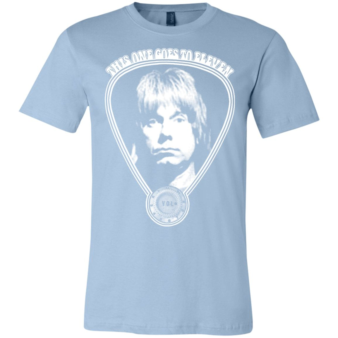 2e0508bd9 Vintage Spinal Tap Movie T-Shirt - Marshall Amp Knob - This One Goes ...