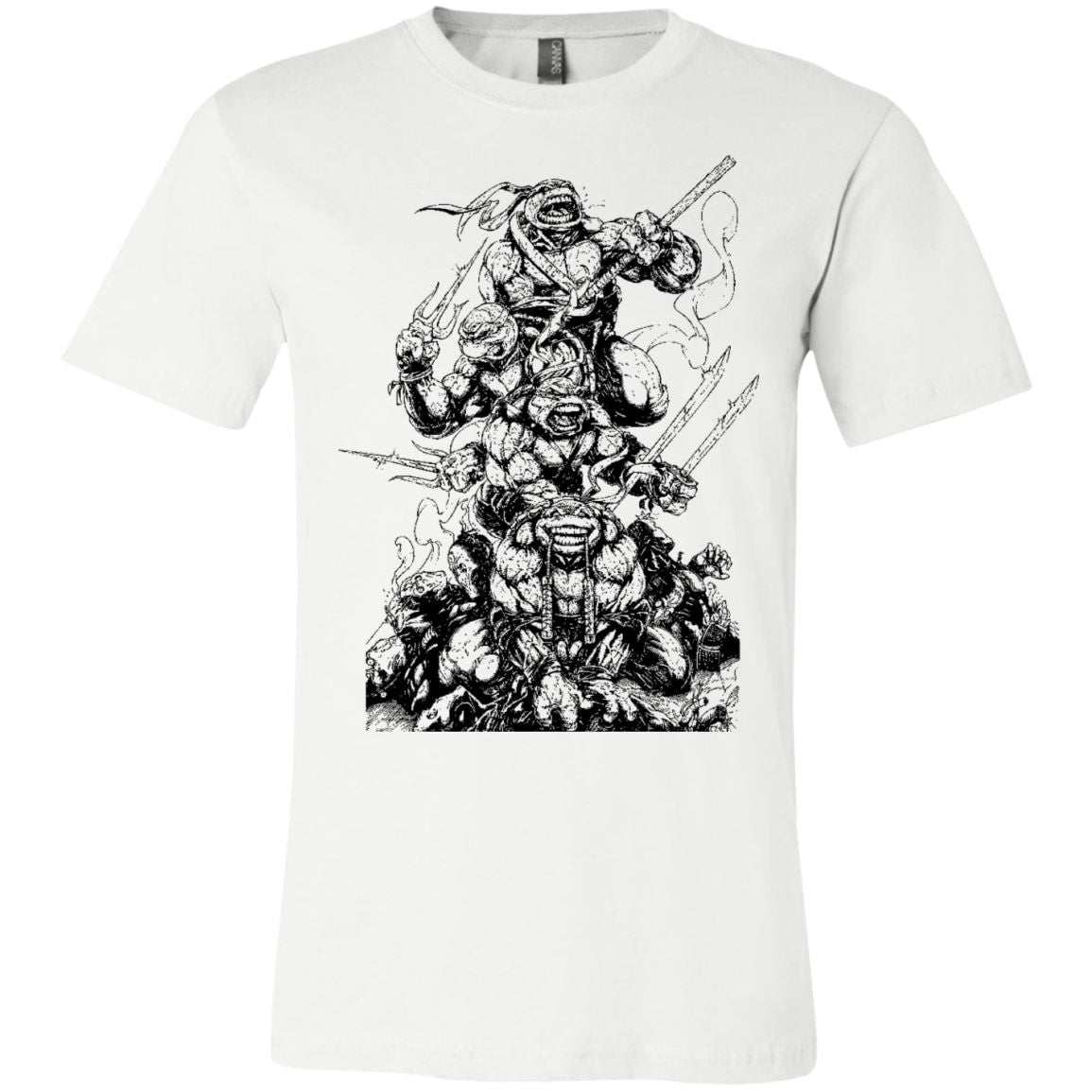 2070444b Teenage Mutant Ninja Turtles T Shirt - TMNT T Shirt - Vintage Ninja Turtles  Shirt – HipSoul