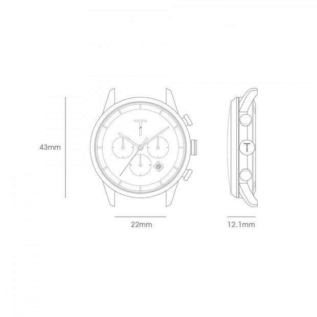 Tribe Mens Watch - TLAC010