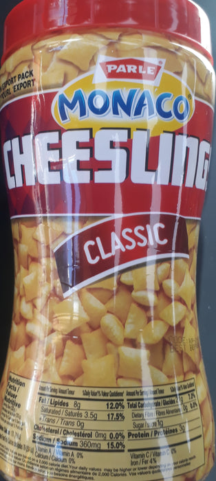 Parle Manaco Cheeslings Classic 150G