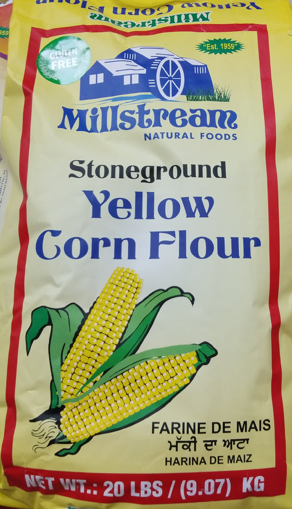 Millstream corn flour,yellow (20lbs)
