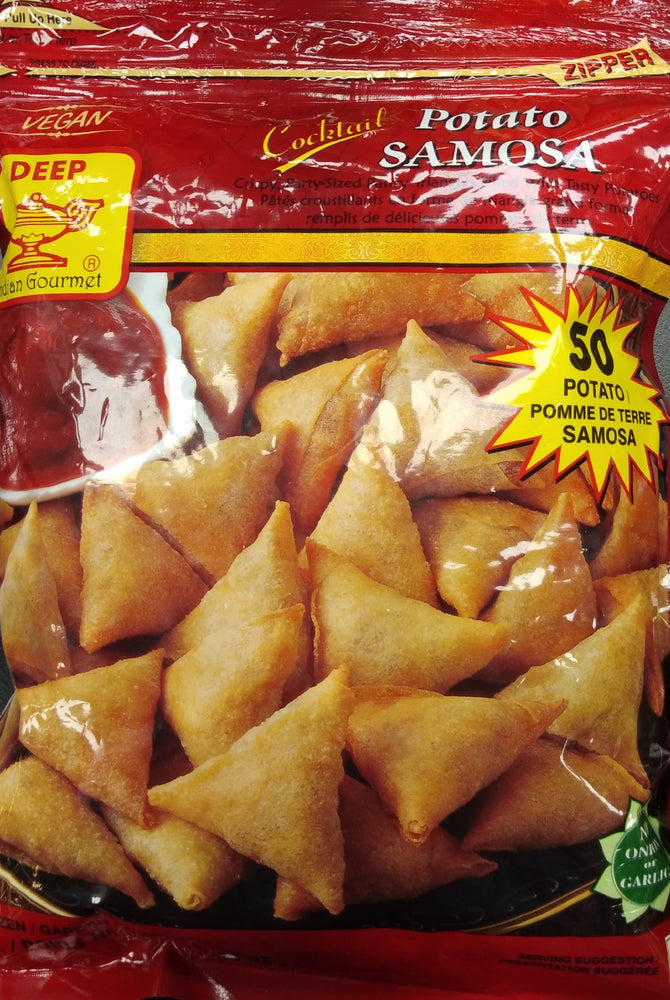 Deep Cocktail Potato Samosa 50 pcs.