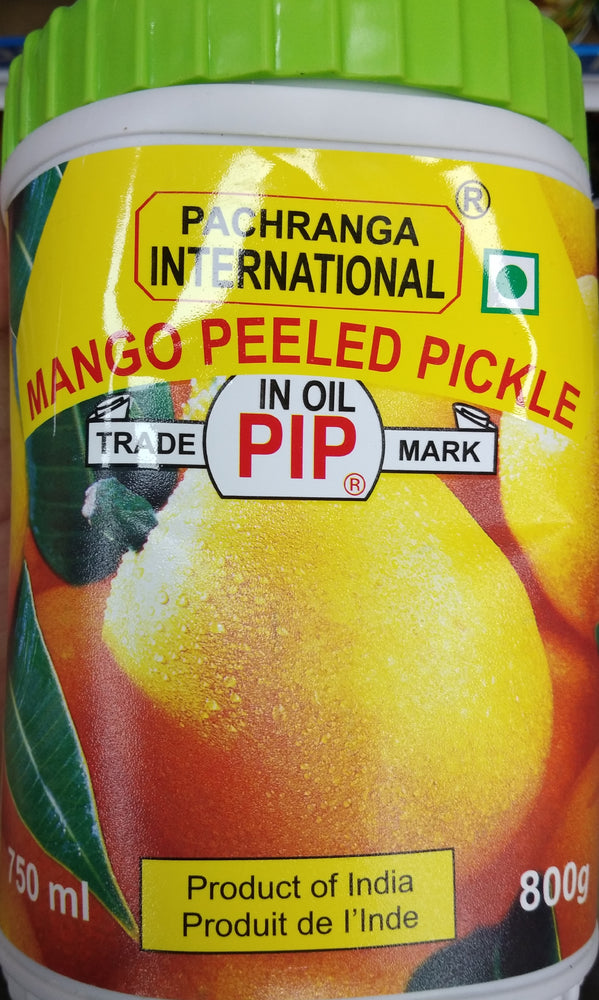 Pachranga Mango Peeled 800gm Glass Bottle