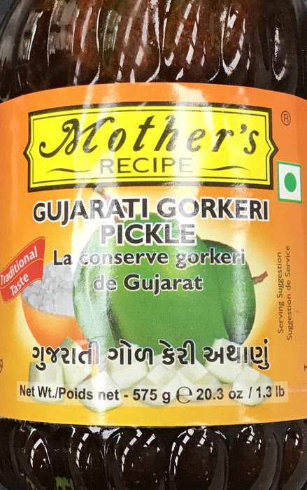 Mother's Recipe Gujarati Gorkeri Pickle 500G