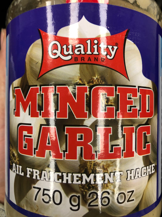 Quality Minced Garlic 750g
