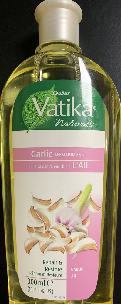 Dabur Vatika Garlic Enriched Hair Oil 300ml