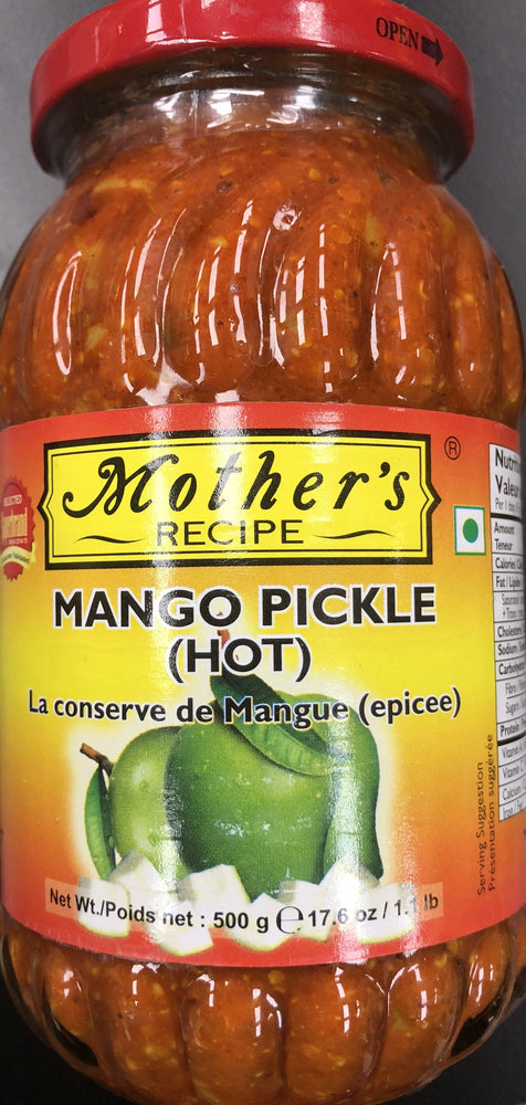 Mothers Mango Pickle (hot) 500g
