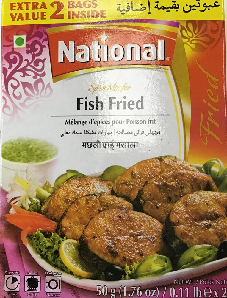 National Fish Fried Masala 100g