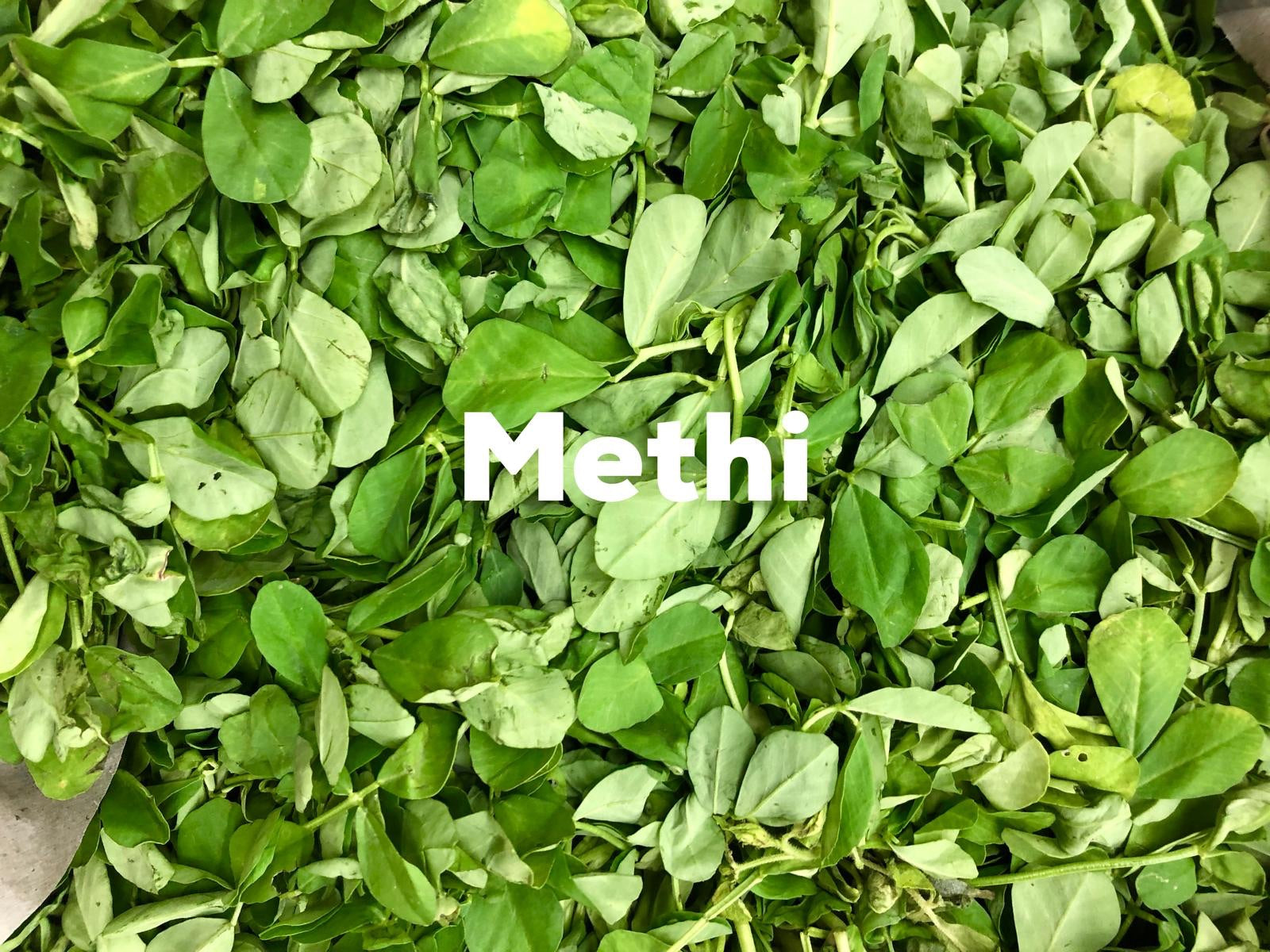 Fresh Indian Methi Per Bunch