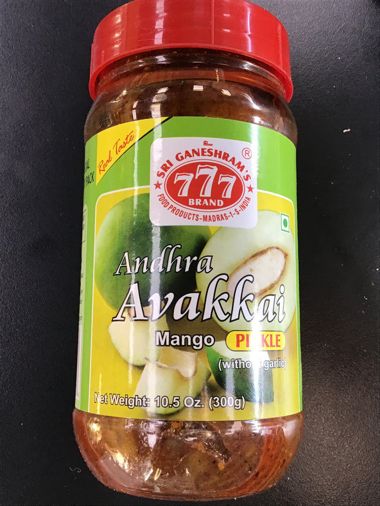777 Avakkai Mango Pickle 300gm